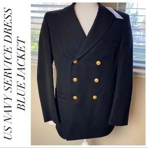 NWT - US Military Navy Service Dress Blues Jacket